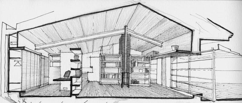Barn Home by Sauquet Arquitectes 12