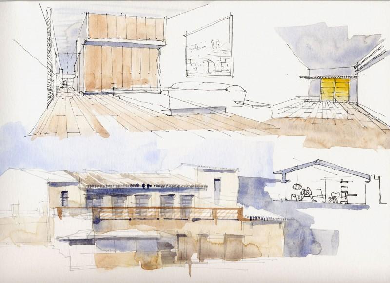 Barn Home by Sauquet Arquitectes 14