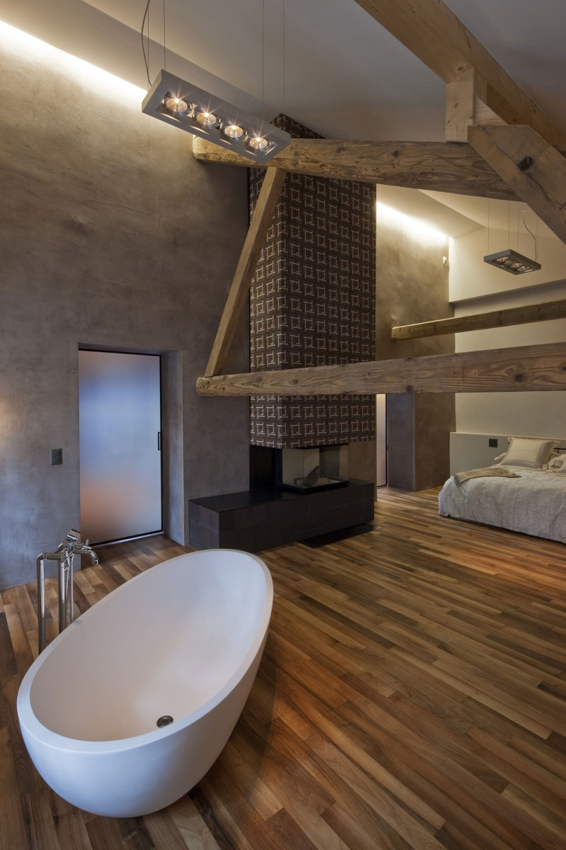 Conversion of farmhouse by arttesa interior design myhouseidea - Farmhouse interior design ...