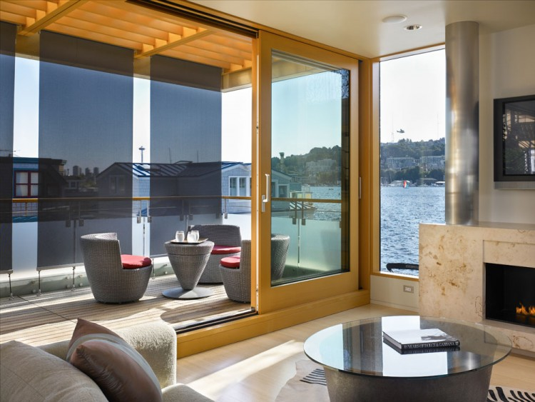 Lake Union Floating Home by Vandeventer + Carlander Architects 04