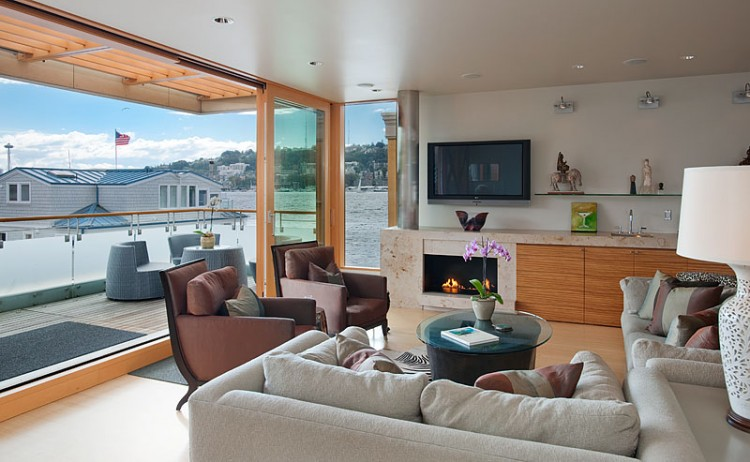 Lake Union Floating Home by Vandeventer + Carlander Architects 05