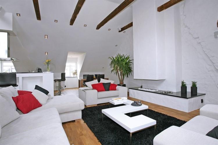 Penthouse on Kungsholmen Island in Stockholm 04