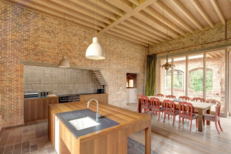 Astley Castle by Witherford Watson Mann Architects 02