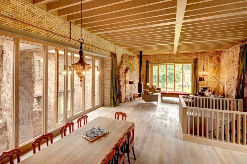 Astley Castle by Witherford Watson Mann Architects 03