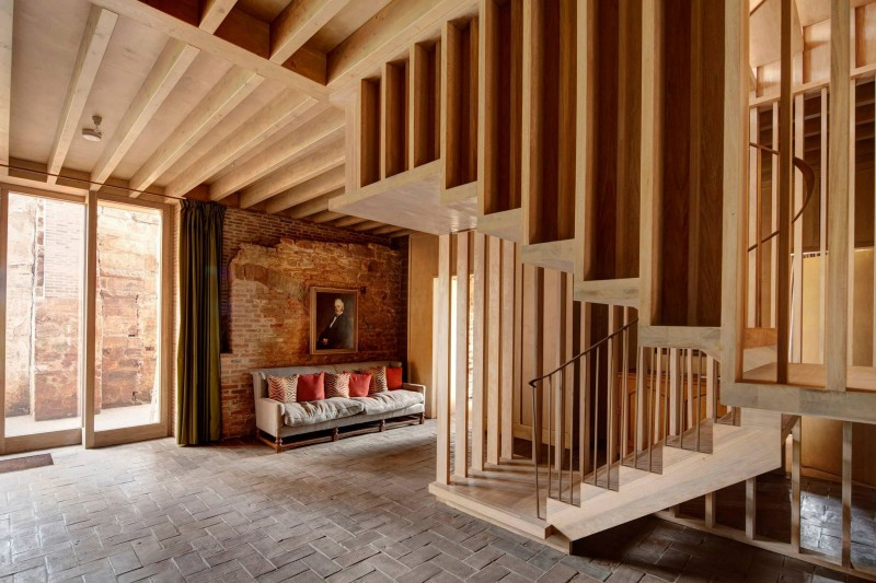 Astley Castle by Witherford Watson Mann Architects 04