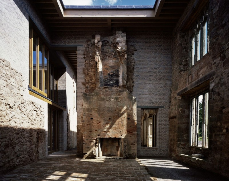 Astley Castle by Witherford Watson Mann Architects 08