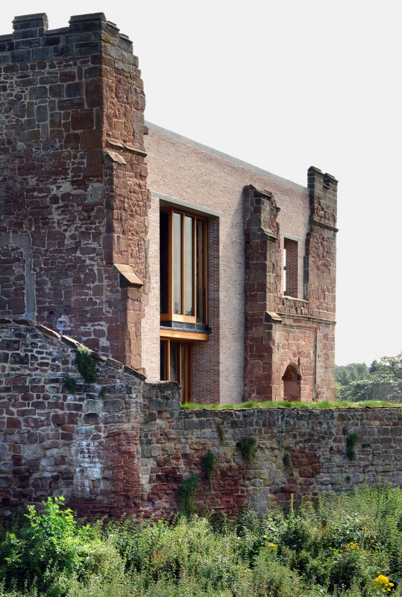 Astley Castle by Witherford Watson Mann Architects 09