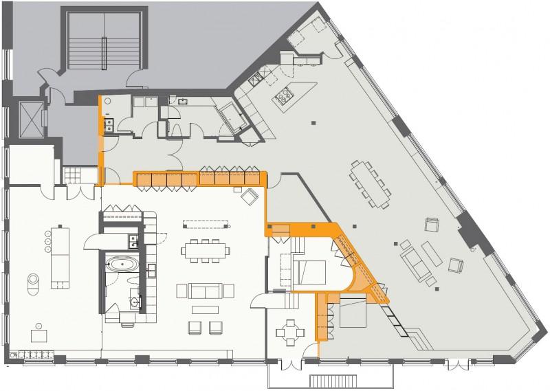 double loft by 3six0 architecture myhouseidea. Black Bedroom Furniture Sets. Home Design Ideas