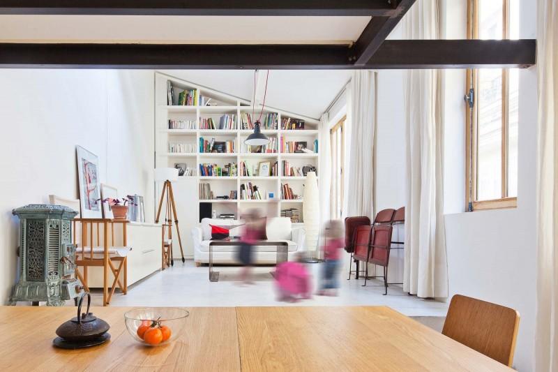 Transformation Du0027un Atelier En Loft By NZI Architectes 05