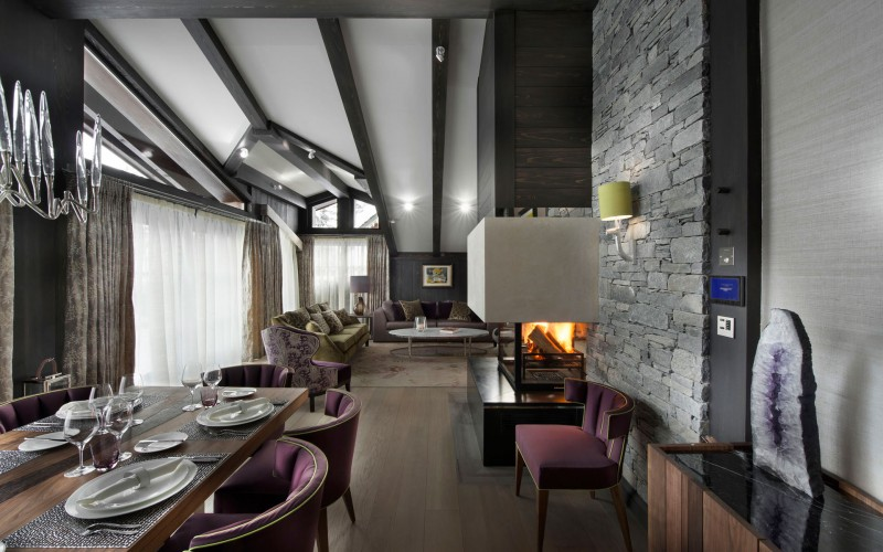 Chalet Le Coquelicot in Courchevel 07