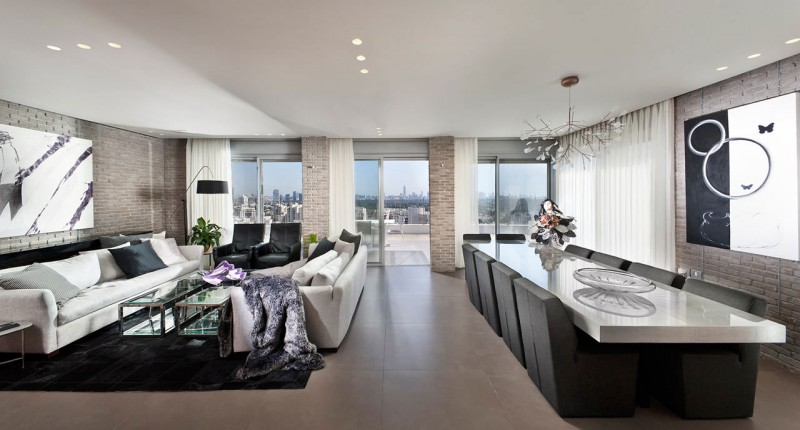 Urban Apartment by Michal Schein 03