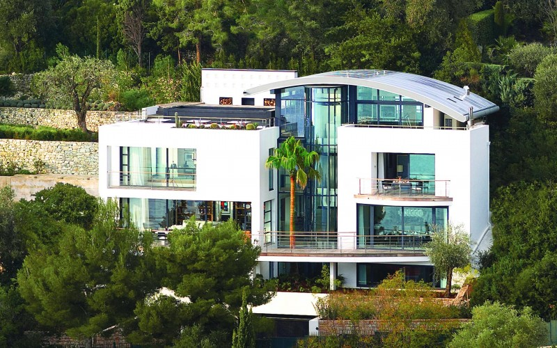Villa O in St. Jean Cap Ferrat, France 02