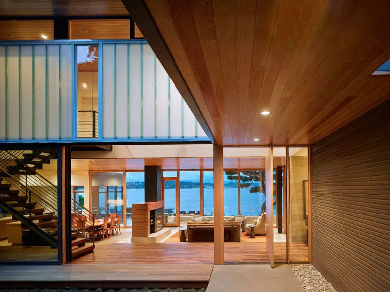 Courtyard House by DeForest Architects 02
