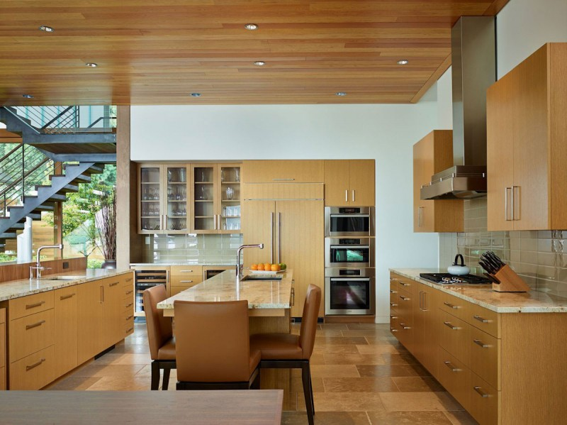 Courtyard House by DeForest Architects 04