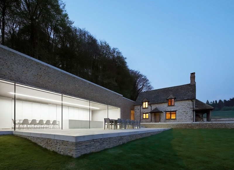 Private House in Cotswolds by Found Associates 01