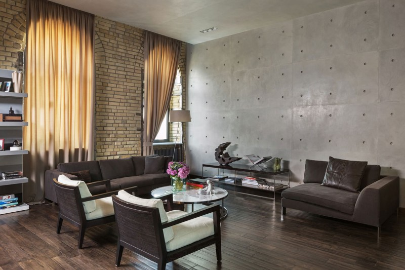 The Podil Loft Apartment by Sergey Makhno 02