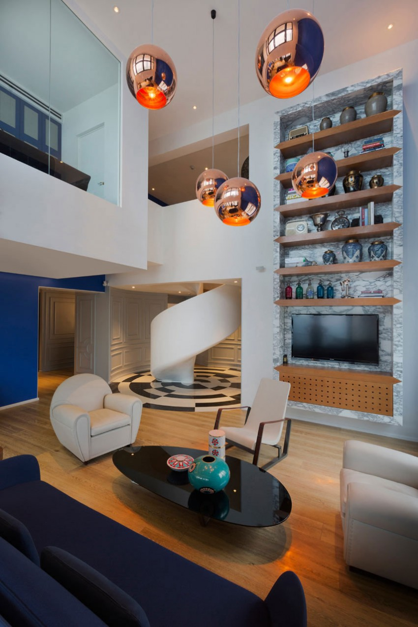 Blue Penthouse by Dariel Studio 05