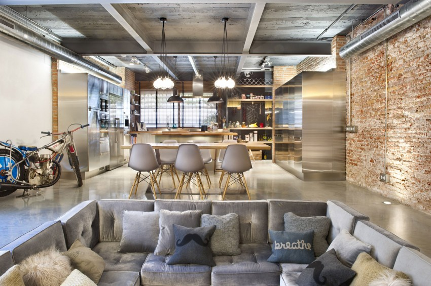 Bajo comercial convertido en loft by Egue y Seta 01