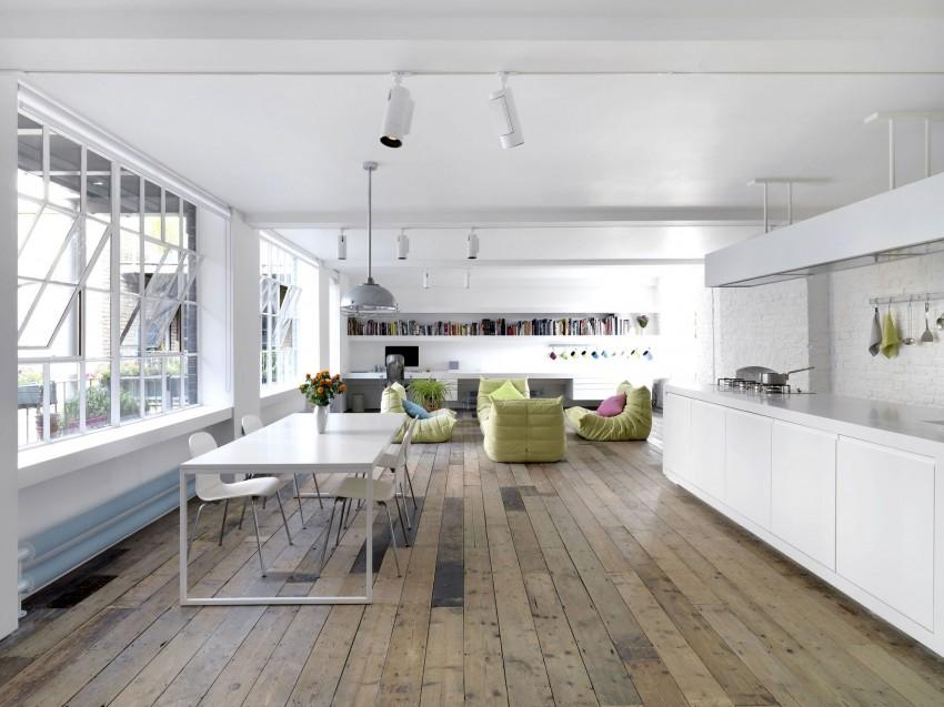 Bermondsey Warehouse Loft by FORM Design Architecture 01