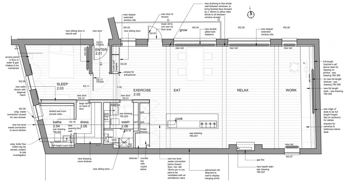 Bermondsey Warehouse Loft by FORM Design Architecture 21
