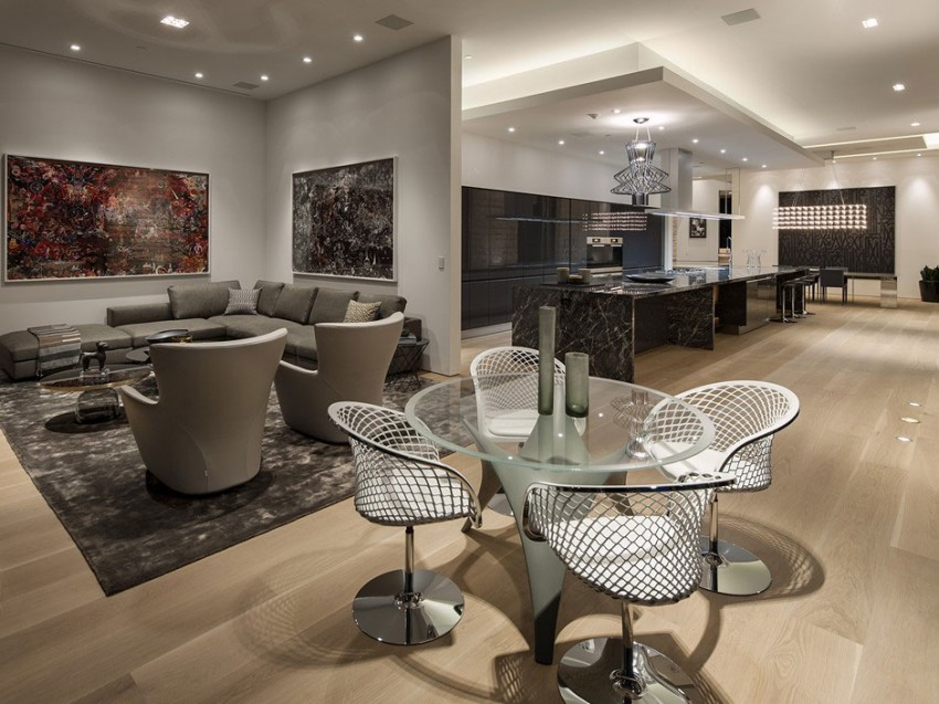 Contemporary architectural house on Sunset Strip 05