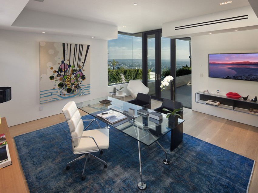 Contemporary architectural house on Sunset Strip 09