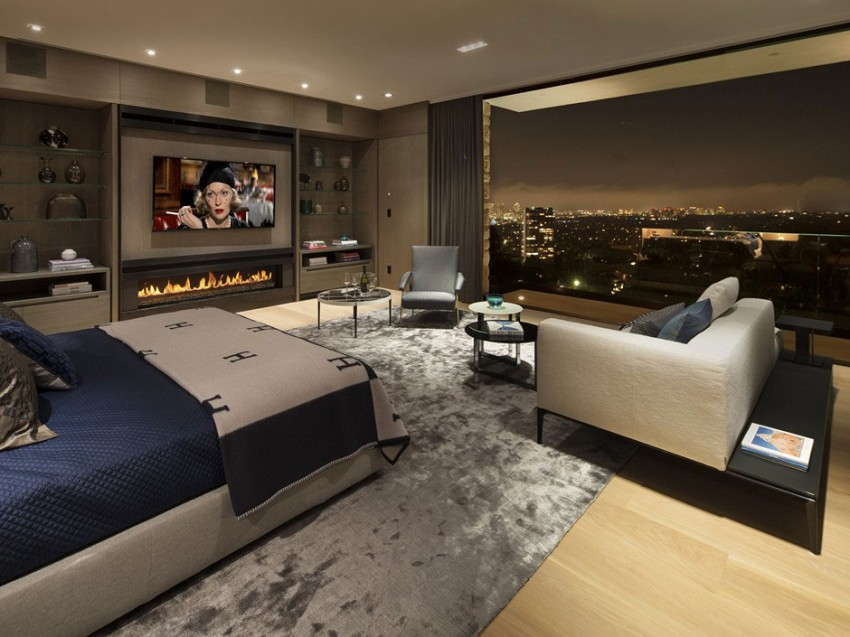 Contemporary architectural house on Sunset Strip 13