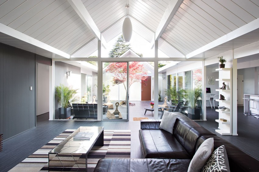 Double Gable Eichler Remodel by Klopf Architecture 03