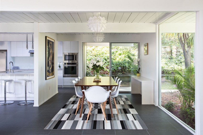Double Gable Eichler Remodel by Klopf Architecture 06