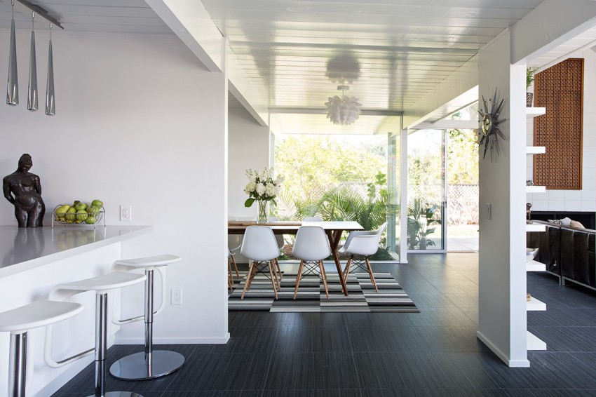 Double Gable Eichler Remodel by Klopf Architecture 07