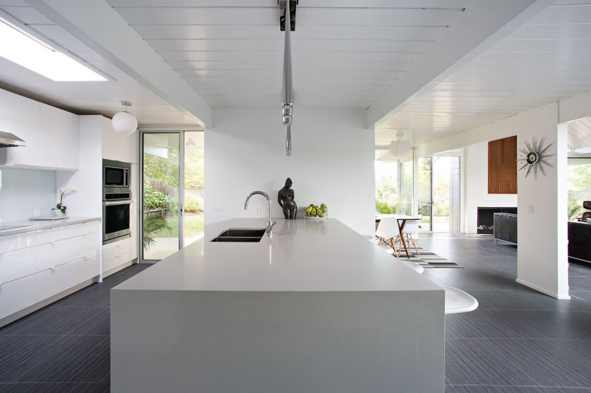 Double Gable Eichler Remodel by Klopf Architecture 10