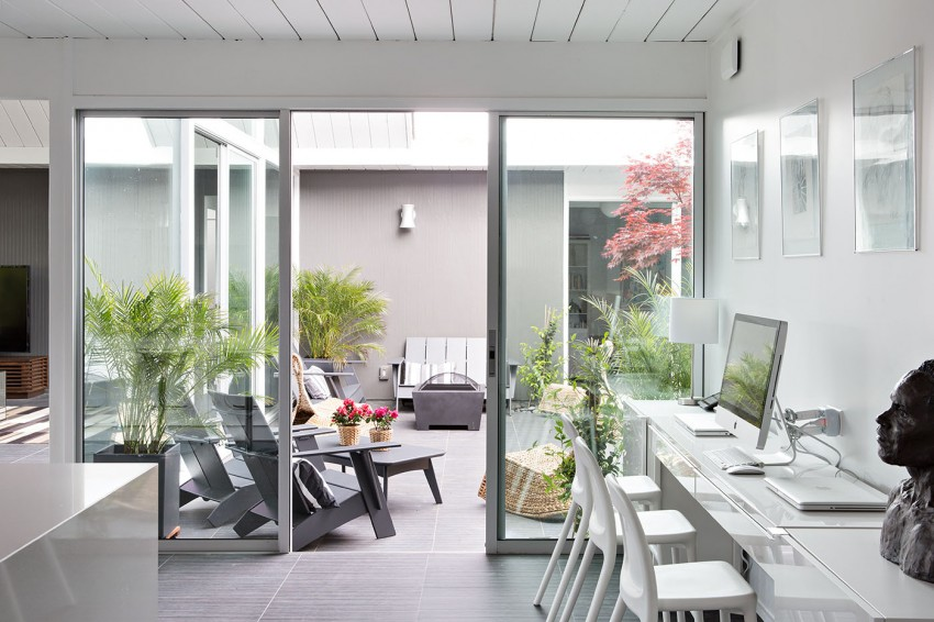 Double Gable Eichler Remodel by Klopf Architecture 13