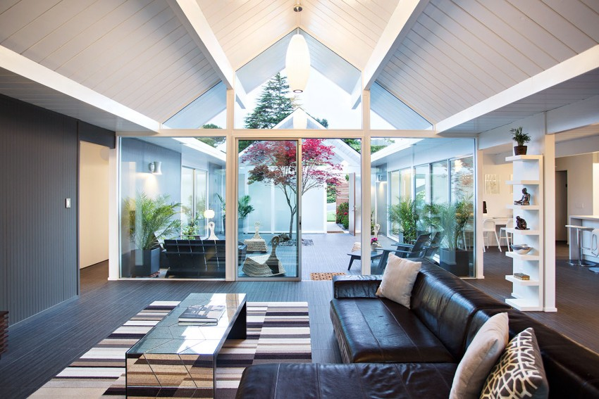 Double Gable Eichler Remodel by Klopf Architecture 14