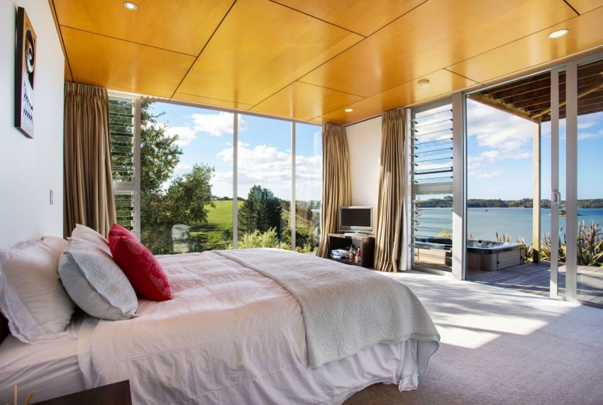 Home In Kerikeri Is Waterfront Contemporary MyHouseIdea - An amazingly beautiful modern waterfront house from new zealand