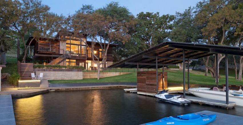 Lakeside Retreat by LakeFlato Architects 01