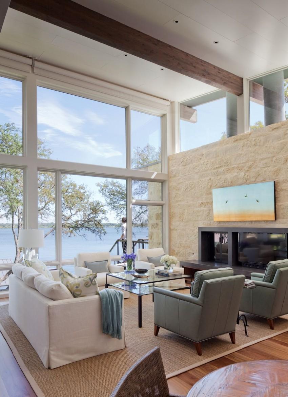 Lakeside Retreat by LakeFlato Architects 02
