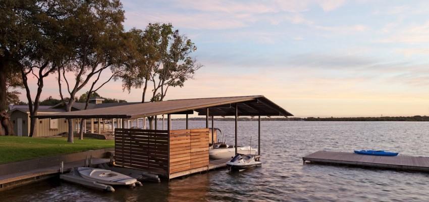 Lakeside Retreat by LakeFlato Architects 09