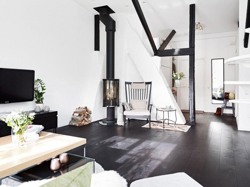 Scandinavian loft with unique floor plan 03