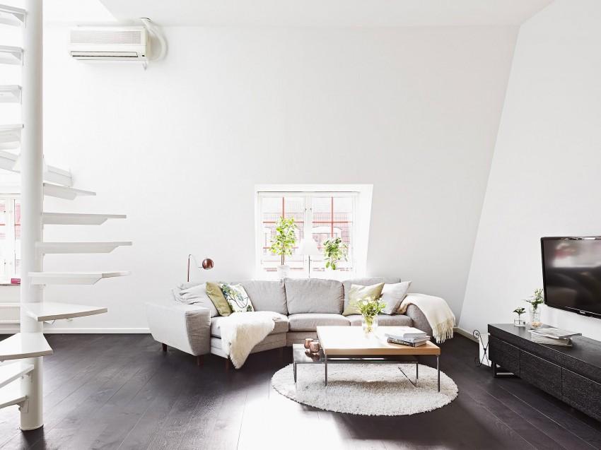 Scandinavian loft with unique floor plan 04