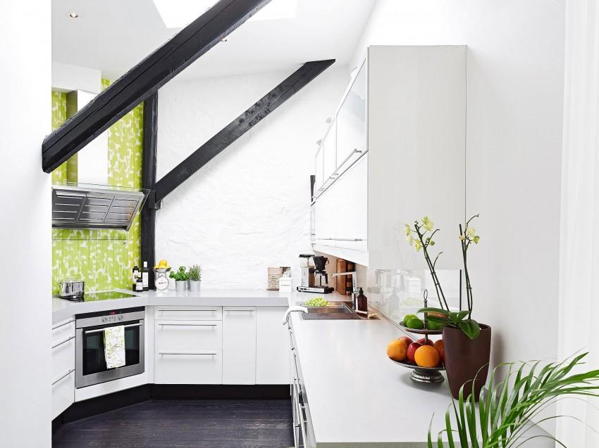 Scandinavian loft with unique floor plan 05