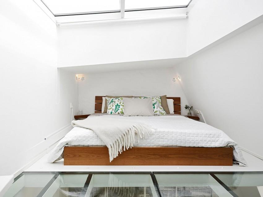 Scandinavian loft with unique floor plan 08