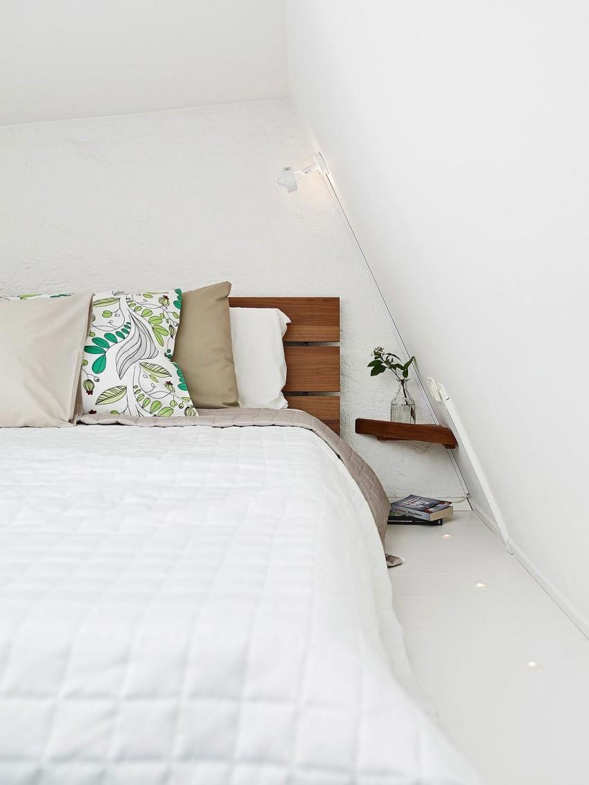 Scandinavian loft with unique floor plan 09