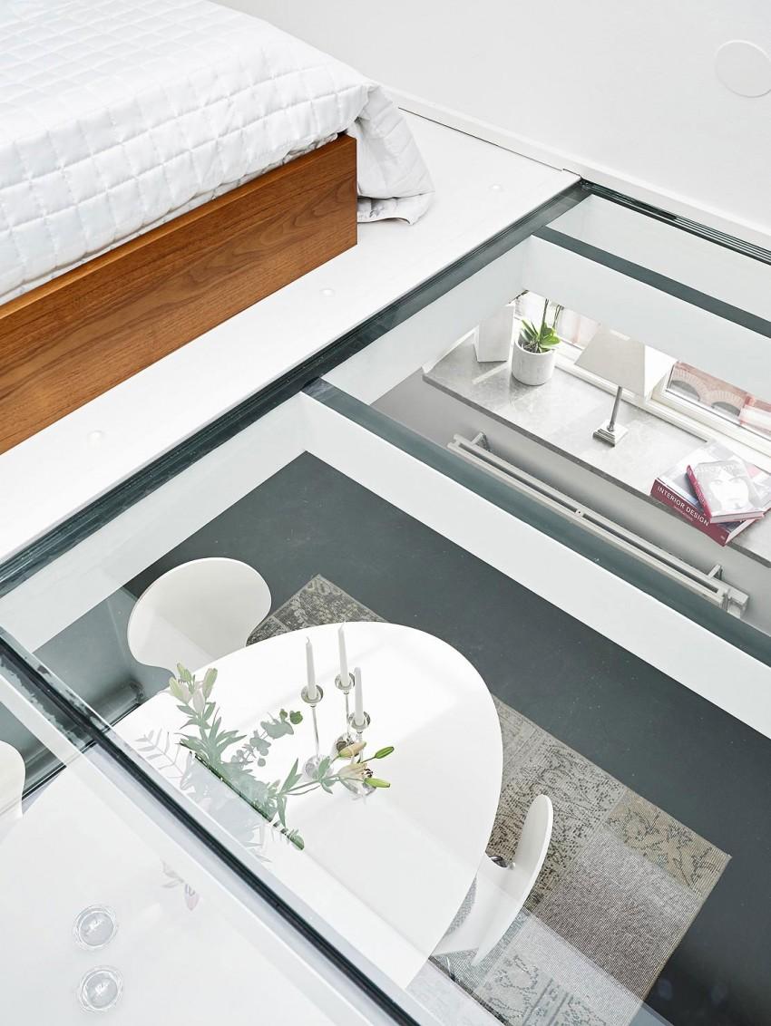 Scandinavian loft with unique floor plan 11