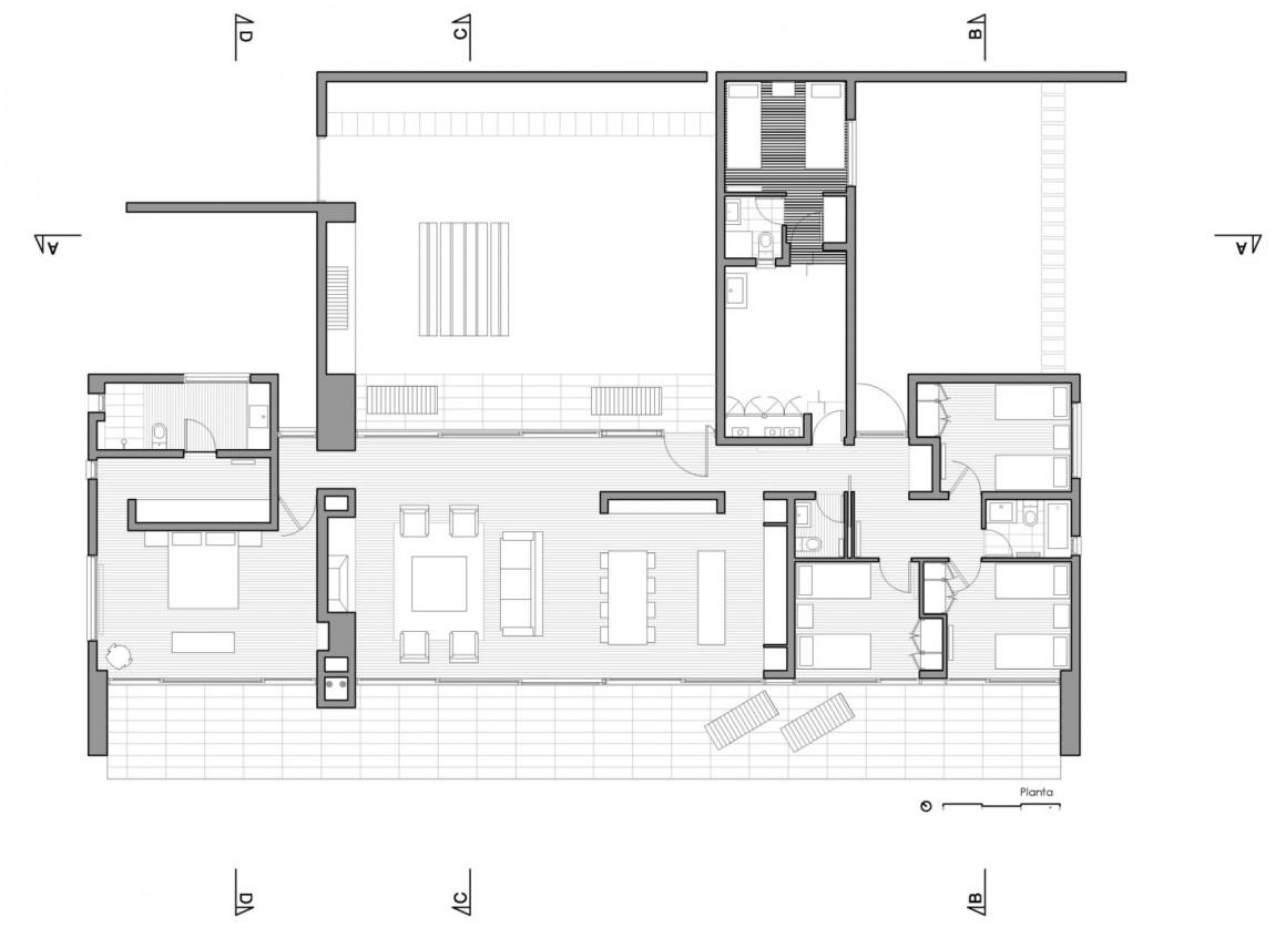 Tunquen House by Nicolás Lipthay Allen  L2C 20