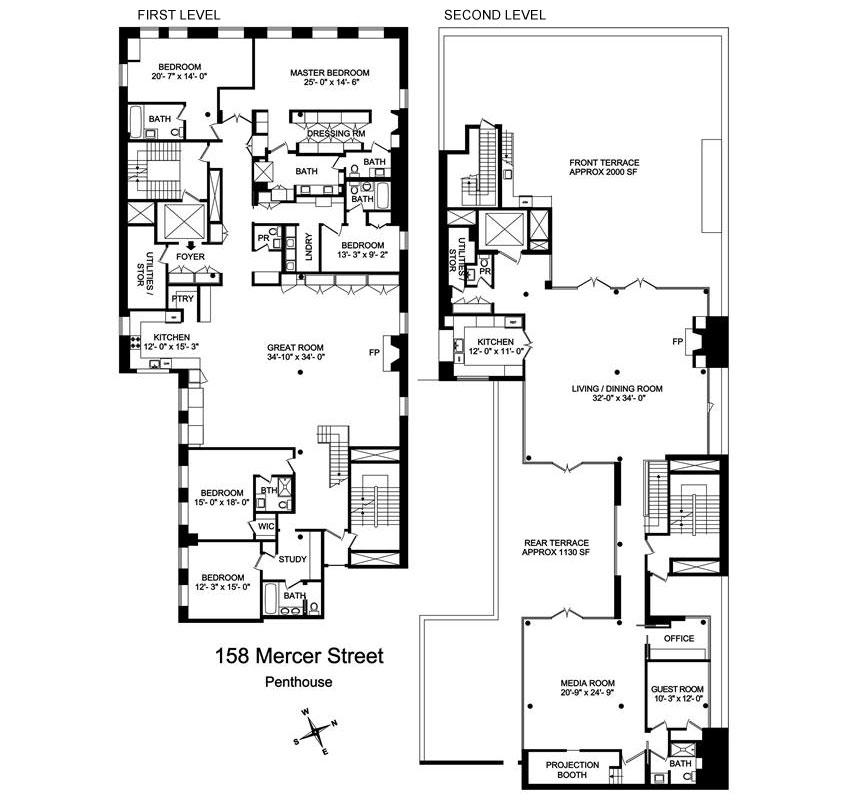 Duplex Penthouse Downtown 18