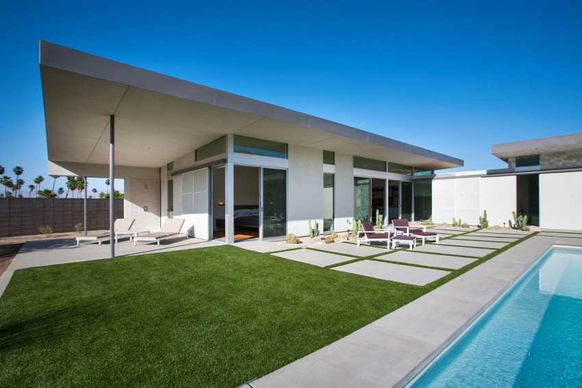 House in Palm Springs by o2 Architecture 01
