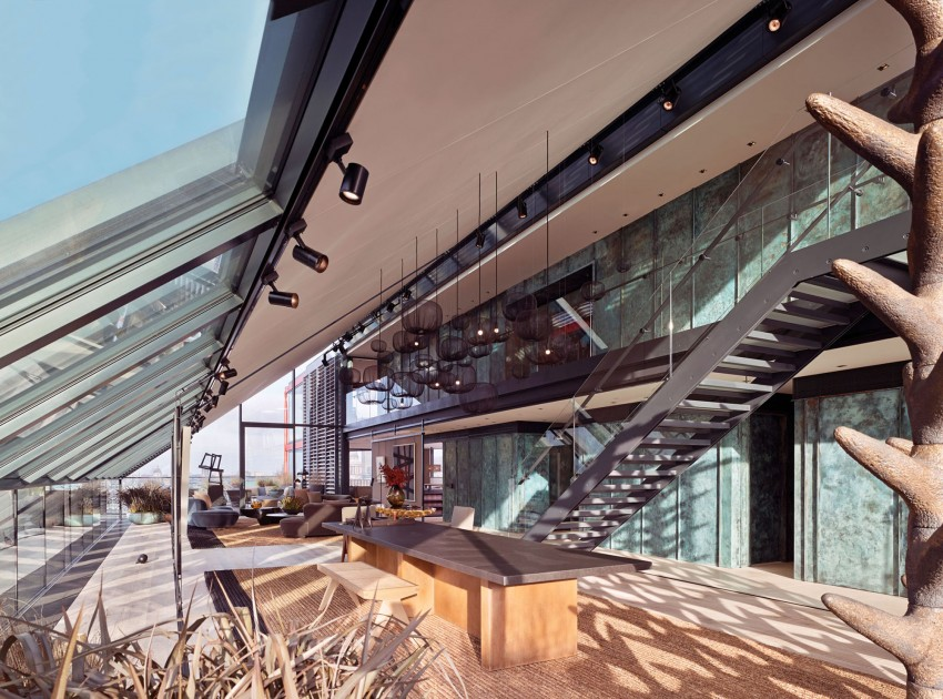 Penthouse at NEO Bankside in London 01