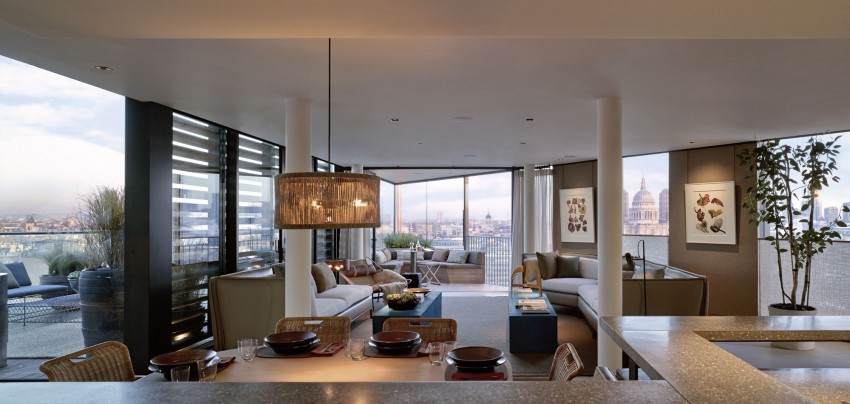 This Luxury 7 080 Square Foot Duplex Penthouse Is