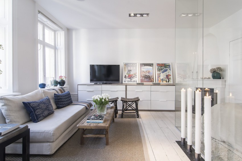 Small yet Stylish Flat in the Heart of Stockholm 07