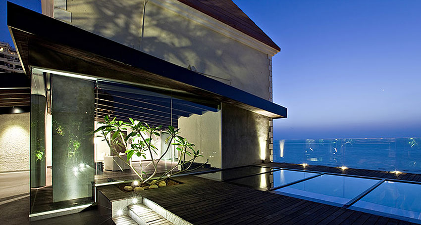 Villa in the sky by Abraham John Architects 19